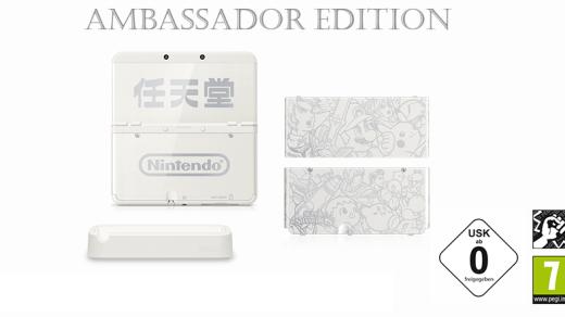 La new 3DS Ambassador Edition pour fin janvier en Europe !