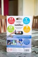 Arrière de la boite de l'Amiibo Sonic