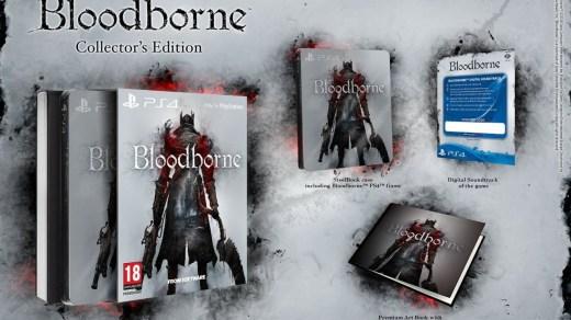 Bloodborne en edition collector, avec son OST, Steelbook et Artbook !