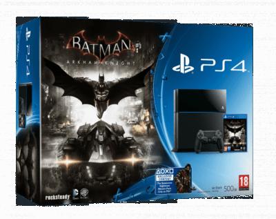 Bundle PS4 Batman  Arkham Knight