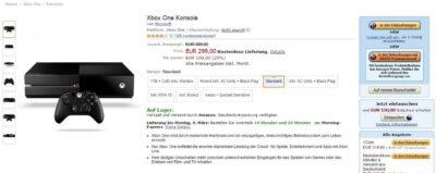 La Xbox One à 299€ est une réalité (parfois) en Allemagne...