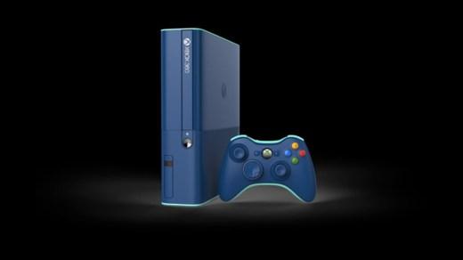 """La superbe """"Limited Edition Blue"""" de la xbox 360 possède déjà un disque de 500go !"""