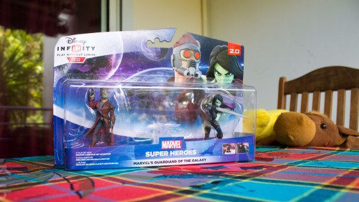 Les Guardiens de la Galaxy viennent sauver euuuh... Ma nappe madras ?