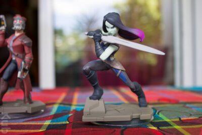Gamora seule...
