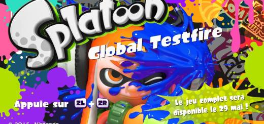 Splatoon Global Testfire