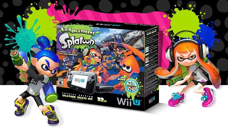 Bundle Wii U Splatoon