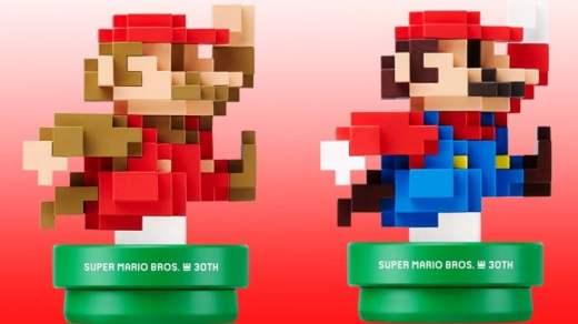Des Amiibo Mario 8 bit prévus pour la sortie de Mario Maker