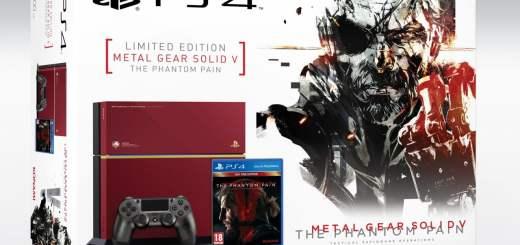 Boxart de la PS4 édition collector MGS V
