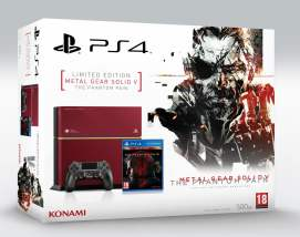 Boxart de la PS4 édition collector MGS V
