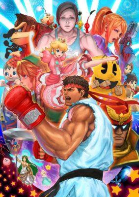 Smash Bros feat. Street Fighter