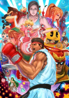 Smash Bros feat. Street Fighter
