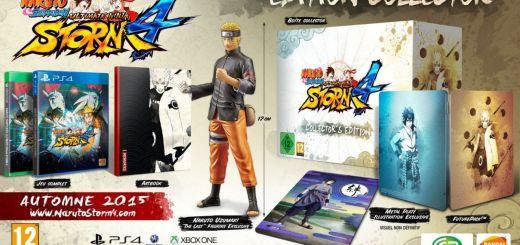 La magnifique édition collector du prometteur Naruto Storm 4 !