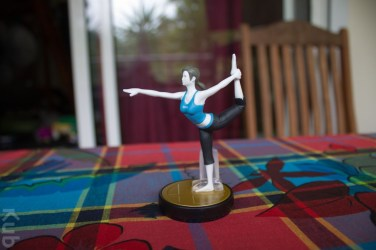 Amiibo Entraineuse Wii Fit