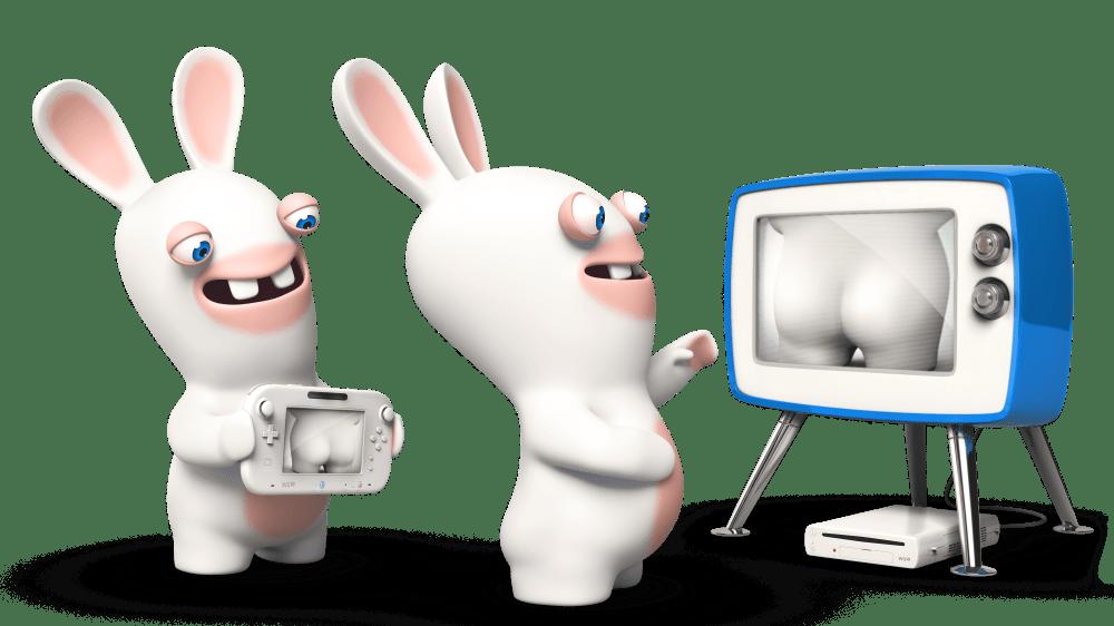 Les capacités de la Wii U mises en valeur par les Lapins Crétins...