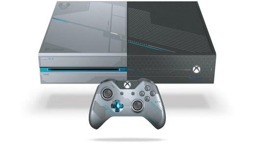 La Xbox One dan sa livrée Halo 5 est tout simplement sublime...
