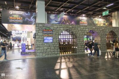 Oh ! Le joli stand d'Orcs Must Die Enchained à la Gamescom 2015 !