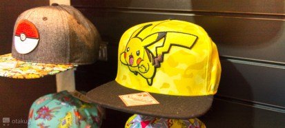 Et les casquettes Pikachu assortis bien sûr !