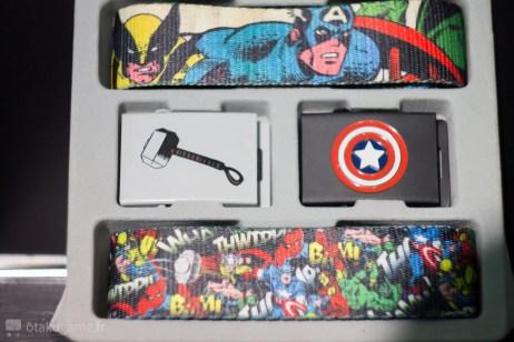 Le set de ceinture Marvel
