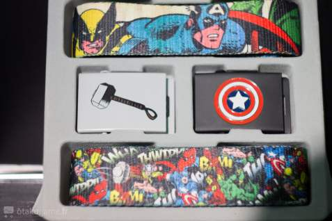 Le set de ceinture Marvel