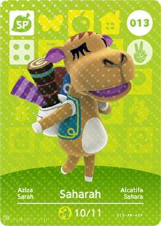 Carte Animal Crossing