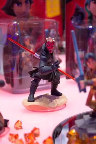 La térrifiante figurine de Dark Maul est super bien rendue !