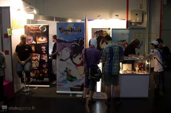 Le stand de Marvelous Games à la Gamescom 2015