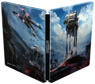 Un petit Steelbook collector AT-AT avec votre Star Wars Battlefront, ça vous tente ?
