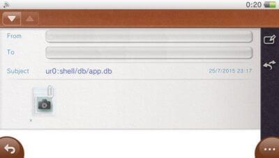 Votre email devrait ressembler à ça.