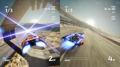 Fast Neo Racing (2 joueurs)