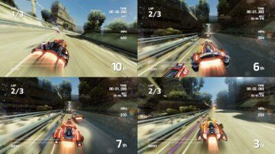 Fast Neo Racing (4 joueurs)
