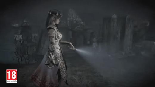 Avouez que c'est étrange de voir un costume de Zelda dans un PEGI 18 !