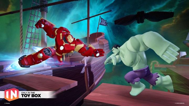 Vous pourrez enfin organiser des combats Veronica vs Hulk dans Disney Infinity !