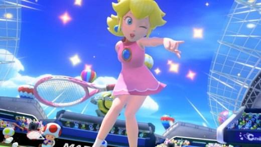 Hem... C'est moi, où chaque fois qu'elle fait du sport, Peach met des mini jupes sexy ?