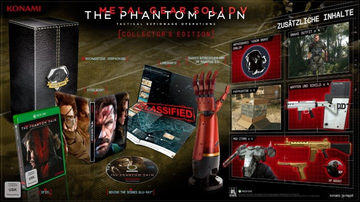 Qui se souvient du collector de Metal Gear Solid V ?