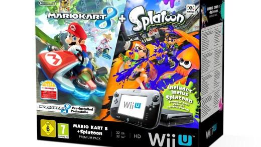 Promotion sur la Wii U avec Splatoon, Mario Kart 8 et Just Dance 2016 !