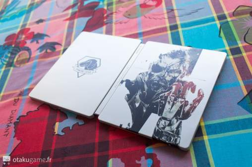 Le voici enfin ce fameux steelbook Metal Gear Solid V : The Phantom Pain !