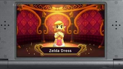 Le robe de Zelda est l'une des plus convoitées du jeu...