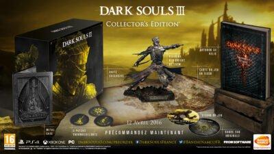 Du coup, l'édition collector de Dark Souls 3 est abordable...