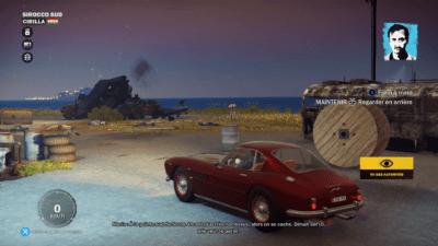 Mario aime les jolies voitures...