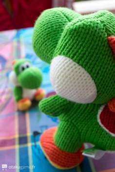 Amiibo Méga Yoshi de Laine (Mega Yarn Yoshi)