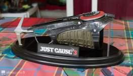 Le grappin de l'édition collector de Just Cause 3