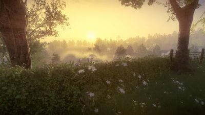 Le jeu commence par un superbe panorama, et donne envie de le parcourir.