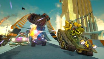 Personnellement, j'aime bien le petit tank, le véhicule de base du jeu...