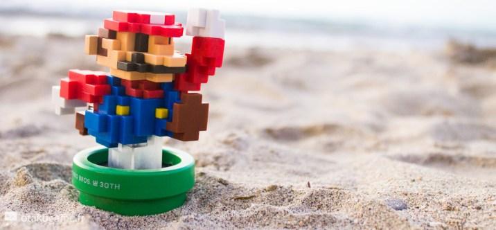 Ouais, il résiste plutôt bien au sable !