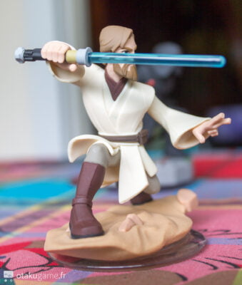 Obiwan Kenobi possède une posture intéressante !