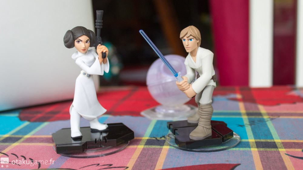 Mini déballage des figurines Leia & Luke Skywaler !