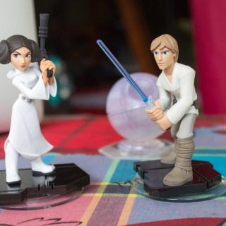 Mini déballage des figurines Leia & Luke Skywaler !
