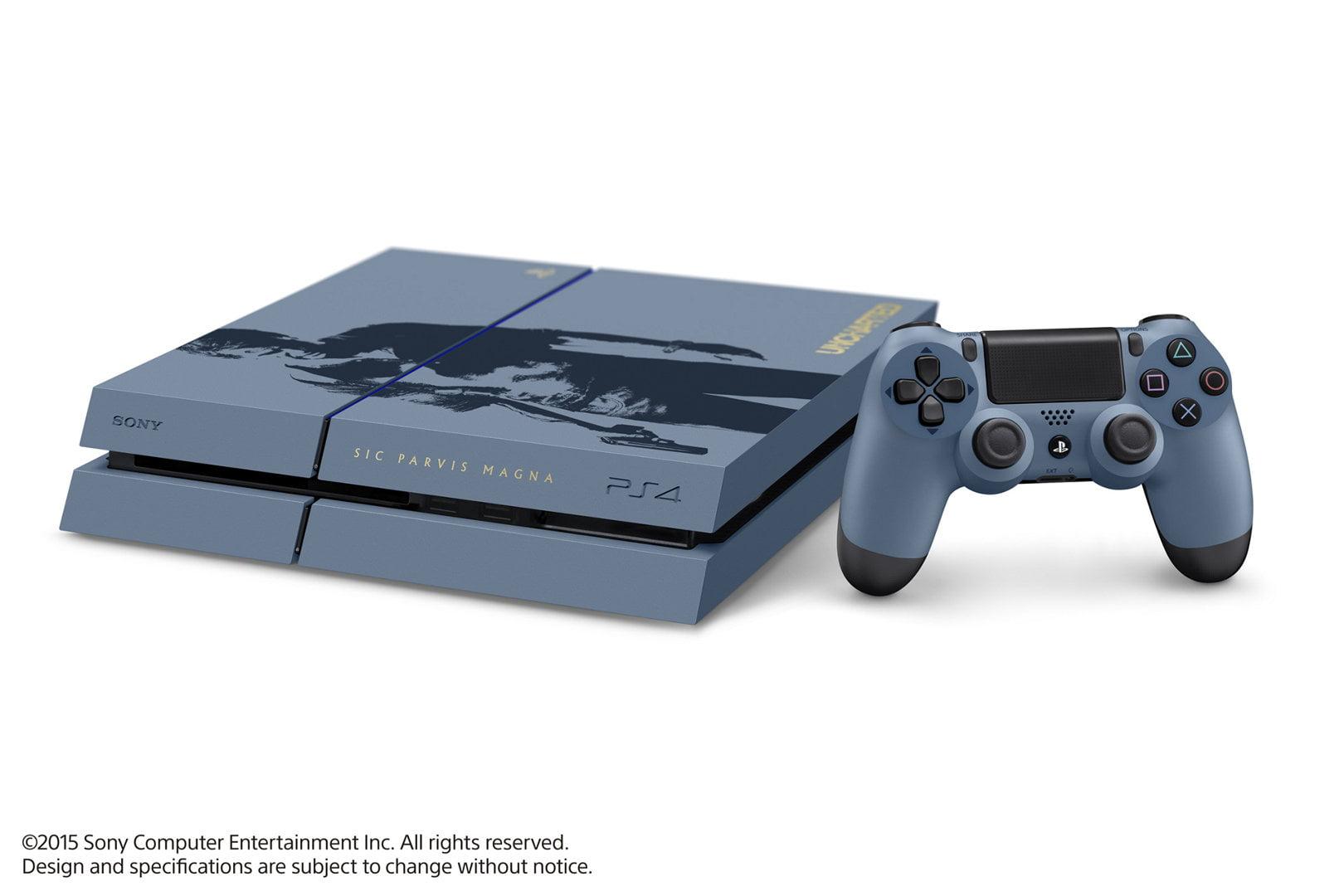 La PS4 édition collector Uncharted 4 semble plutôt travaillée :)à !