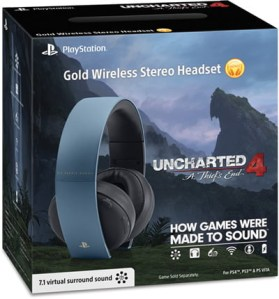 Casque Collector PS4 Uncharted 4