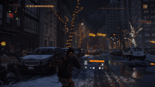 On sent l'esprit de Noël à travers The Division... (No Fake)